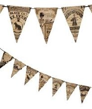 Vintage Apothecary Banner