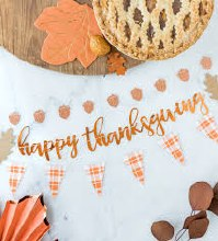 Thanksgiving Mini 3pc Banner Set