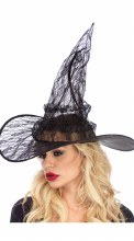 Hat Witch Lace