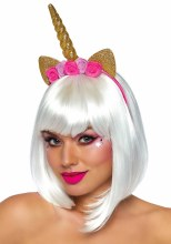 Golden Unicorn Headband