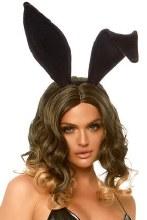 Bunny Ears Velvet Black