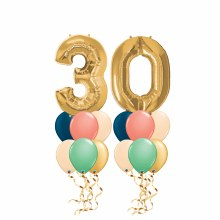 Age Celebration Medium Balloon Bouquets