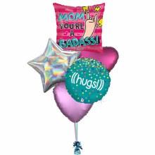 Balloon Bouquet ~ Bad Ass Mom