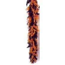 Boa Feather Black / Orange