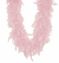 Boa Light Pink 72in