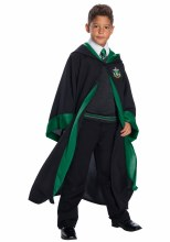 Slytherin Unform Dlx Child XL