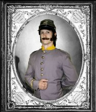 Rental Confederate Soldier Costume