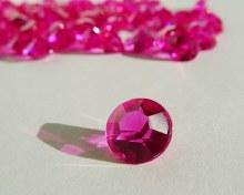 Confetti Gems Bright Pink 1oz