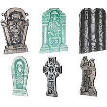 Tombstones Set 6pk