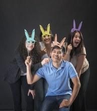 Bunny Selfie Sticks