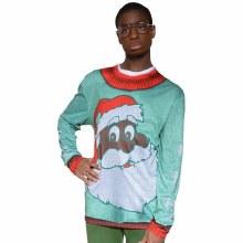 Faux Real Black Santa L