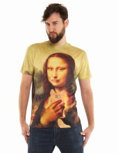 Mona Lisa Smile Shirt Sm