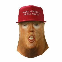 Hat/Mask Trump Face MAGA