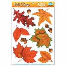 Fall Leaf Clings