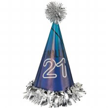 Finally 21 Fringed Cone Hat