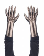 Gloves Skeleton Bone DLX