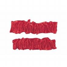 Garter/Armbands Red
