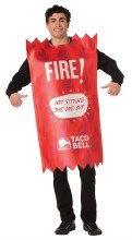 Taco Bell Packet Fire Adult One Size