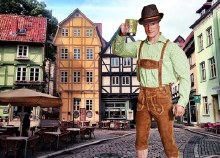 Rental Lederhosen Costume