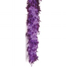 """Feather Boa - Purple w/ Orchid Tips 72"""""""