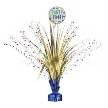 Happy Dots Spray Party Time Centerpiece