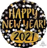Happy New Year 2021 ~ 18in