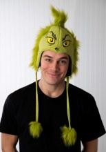Hat Hoodie Grinch