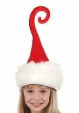 Hat Santa Curly Q