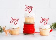 Cupcake Toppers Joy