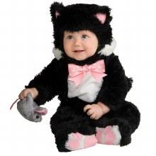 Inky Black Kitty 12-18m