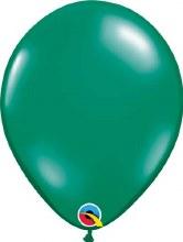 Latex Balloon 11in Jwl Emerald