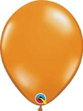 Latex Balloon 11in Jwl Orange