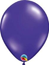 Latex Balloon 11in Jwl Purple