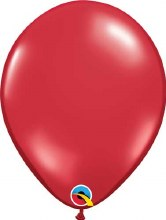 Latex Balloon 11in Jewel Red