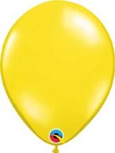 Latex Balloon 11in Jewl Yellow