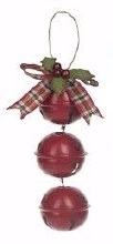 Jingle Bell Ornament ~ Red