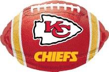 "Kansas City Chiefs Football ~ 18"""