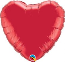 """Red Heart ~ 18"""""""