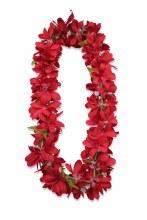 Lei Plumeria Red