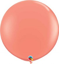 Latex Balloon 11in Matte Coral