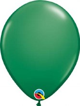 Latex Balloon 11in Matte Green