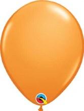 Latex Balloon 11in Matt Orange