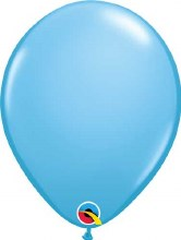 Latex Balloon 11in M Pale Blue