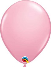 Latex Balloon 11in Matte Pink