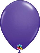 Latex Balloon 11in Matt Purple