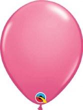 Latex Balloon 11in Matte Rose