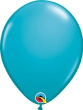 Latex Balloon 11in Matte Teal