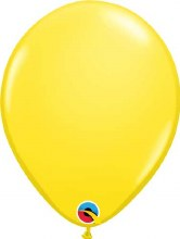 Latex Balloon 11in Matt Yellow