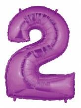 "40"" Megaloon Purple Number 2"