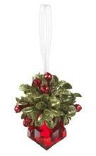 Mistletow Jewel Ornament